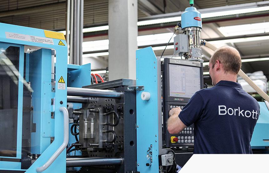 Fertigung Kunststoffspritgusstechnik Maschinenarbeiten