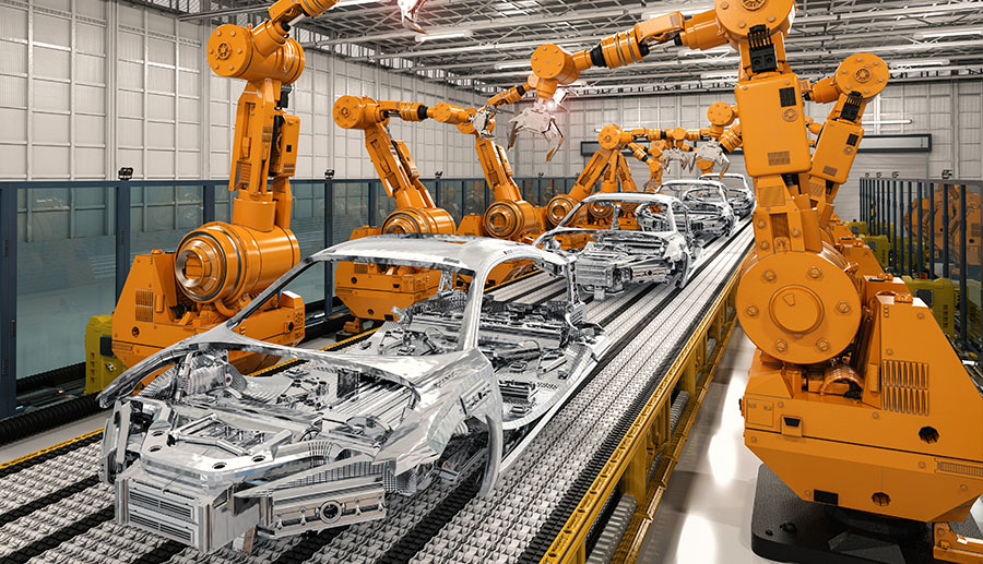 Branchen Automobilindustrie Automatisierte Produktion